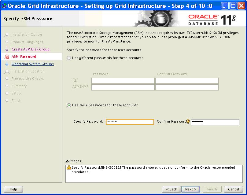 How to Install Oracle 11g on Linux with ASM - Oracle Database