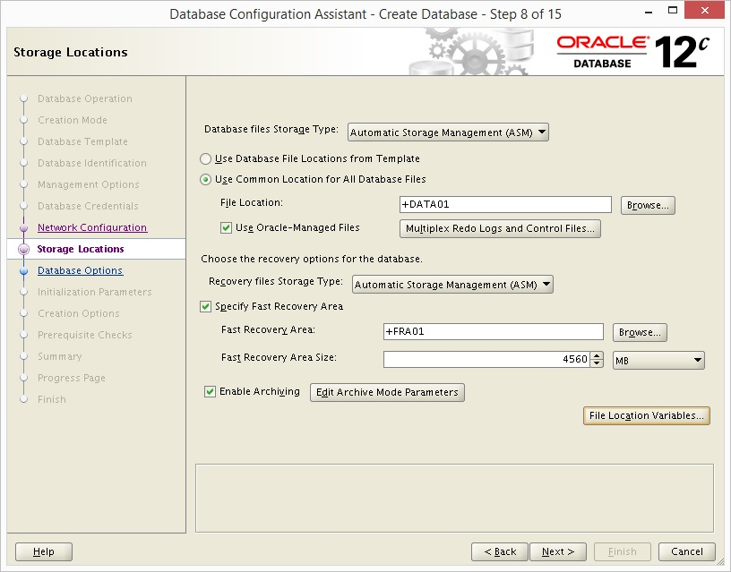 How to Install Oracle 12c and ASM on RedHat - Oracle Database